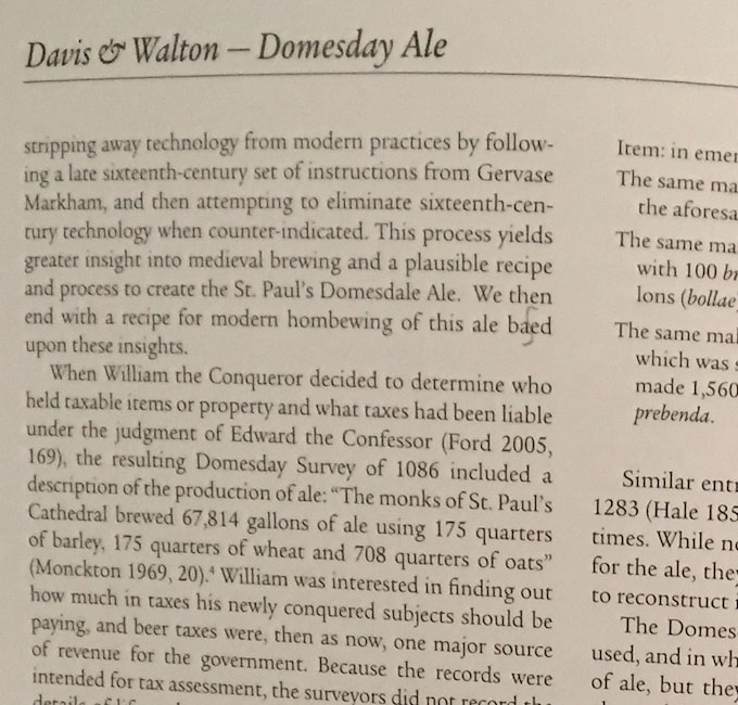 domesday ale 1086