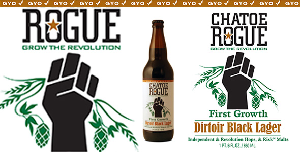 rogue dirtoir black lager