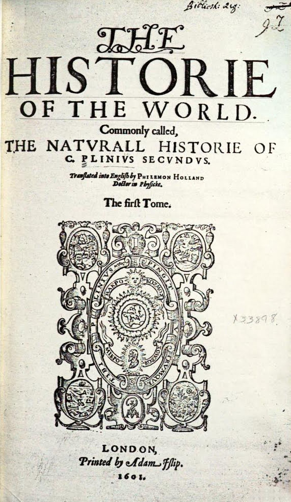 Historie of the World coverpage