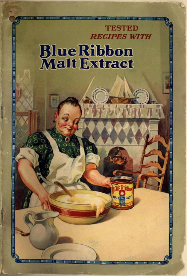 malt extract blue ribbon 1928